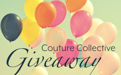 Have you entered the Couture Collective giveaway?