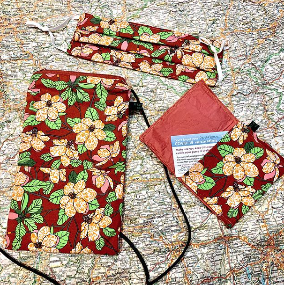 Floral bags and wallets